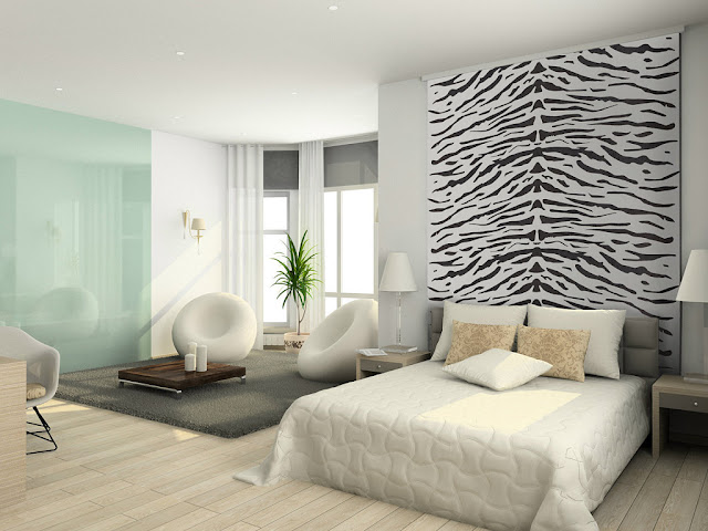DORMITORIOS EN ANIMAL PRINT by artesydisenos.blogspot.com