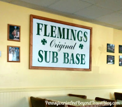 Flemings Sub Base on Derry Street in Harrisburg, Pennsylvania