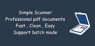 simple scan - pdf scanner app apk