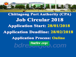 Chittagong Port Authority Laskar Job Circular 2018