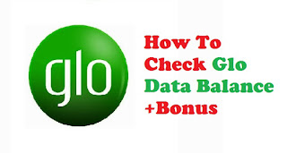 How to check glo data balance