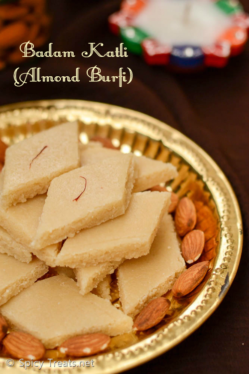 Almond Burfi Recipe