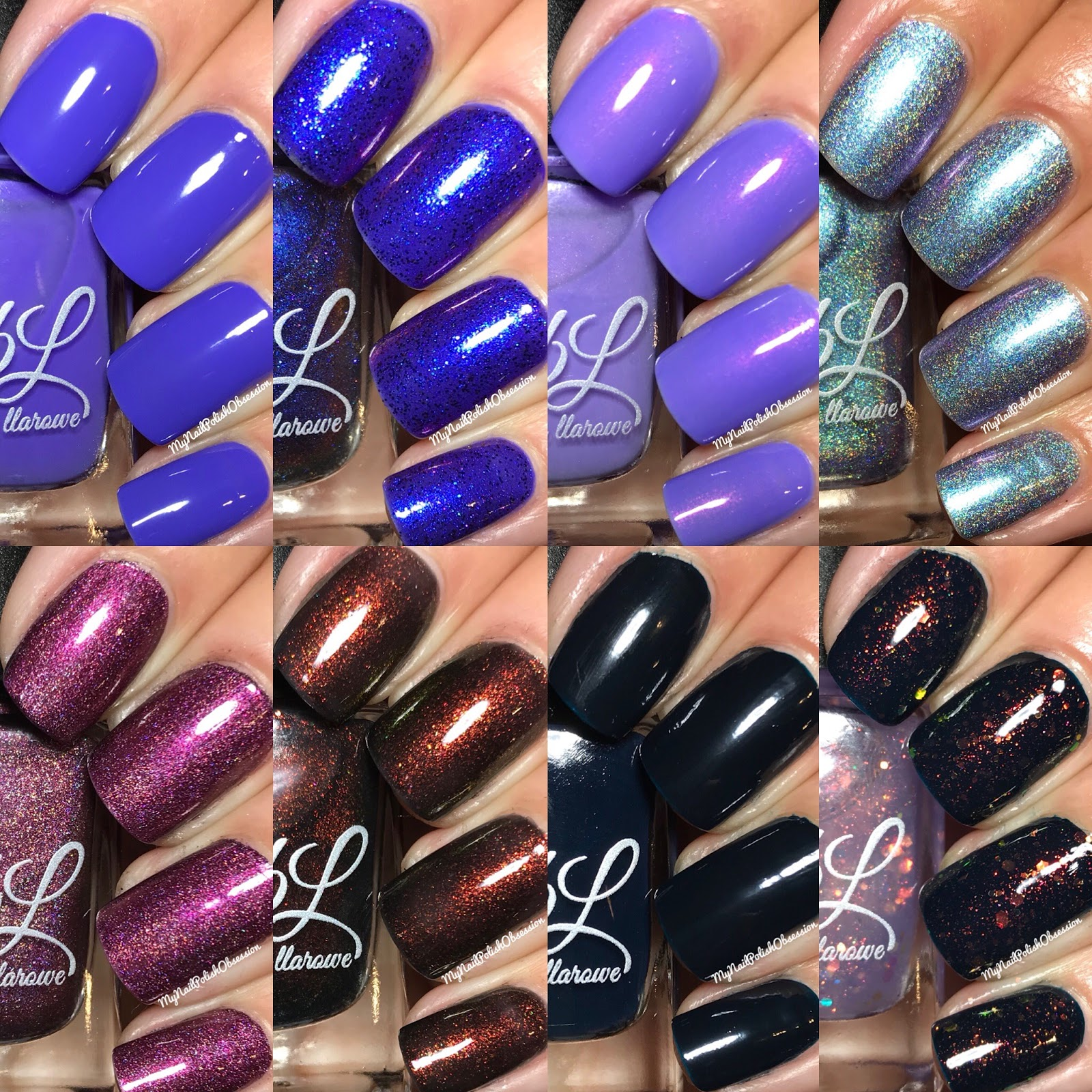 My Nail Polish Obsession: Colors by Llarowe Mild & Wild 2018 Collection