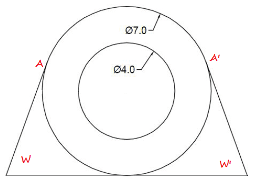 20 hari belajar dasar Autocad 2D - hari #3 membuat Line dengan memakai garis bantu