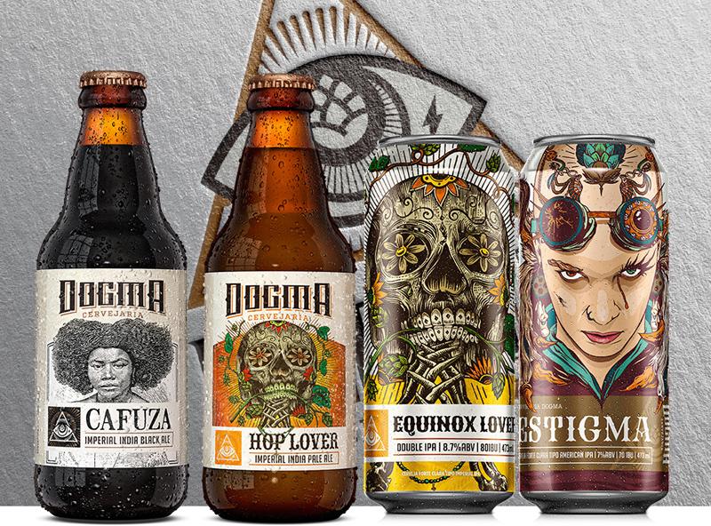 e8a1c91f85372 All Beers  Dogma lança novos lotes frescos e abre loja virtual com ...