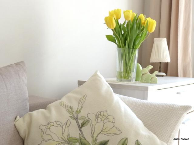 ozdoby wiosenne w mieszkaniu