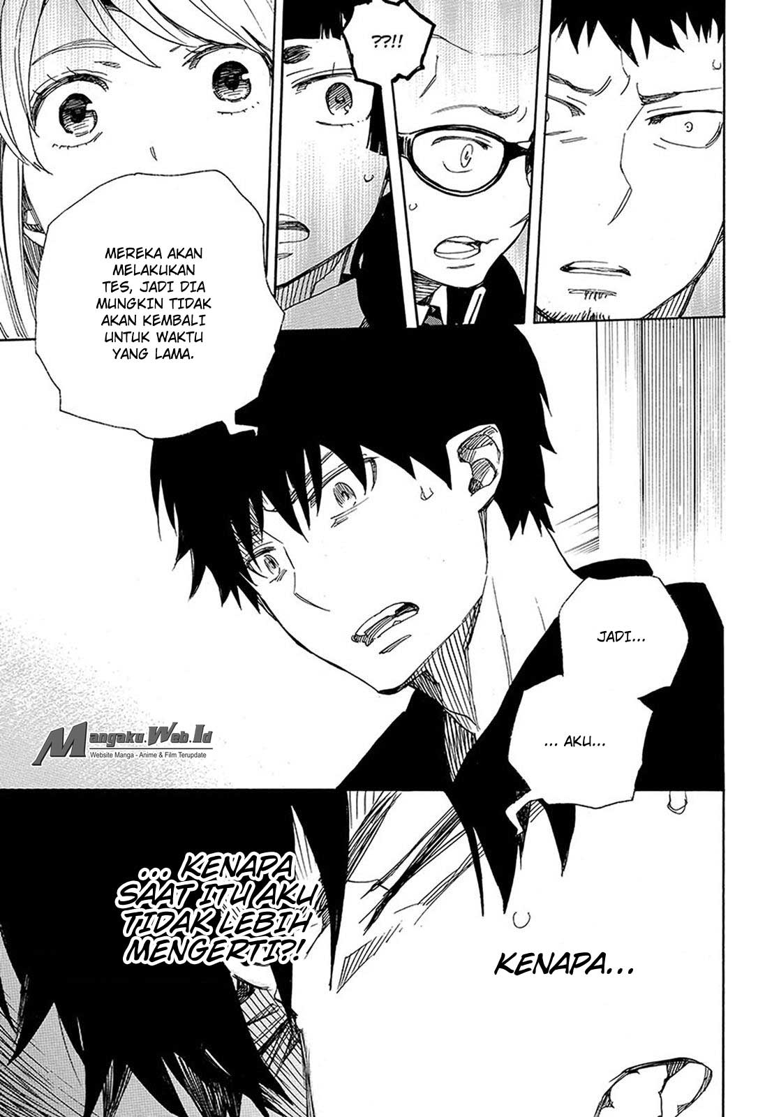 Ao no Exorcist Chapter 95-24