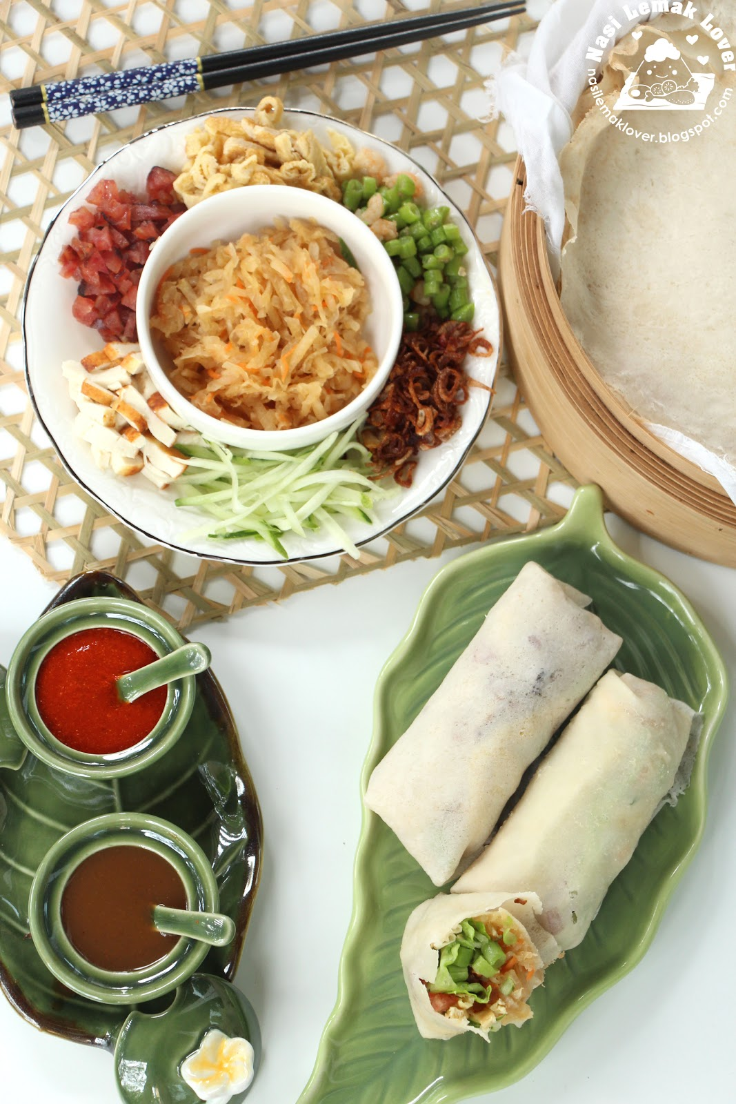 Nasi Lemak Lover: Chinese Popiah (crepe with mix ...