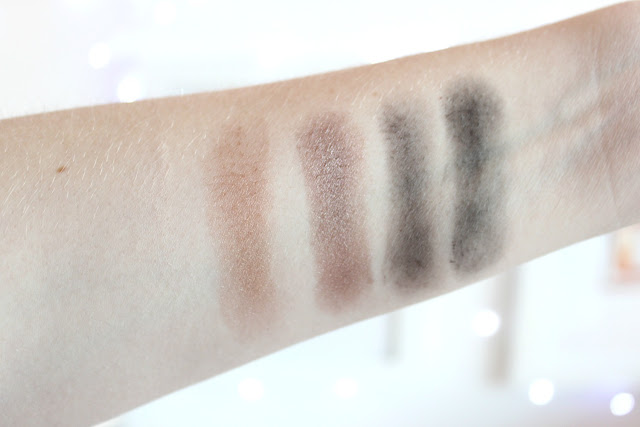 Bobbi Brown cool dusk eyeshadow palette swatches