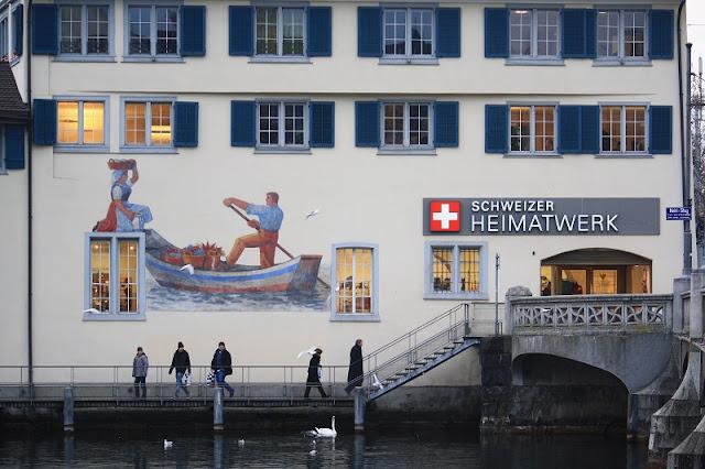 Souvenirs e lembrancinhas em Zurique