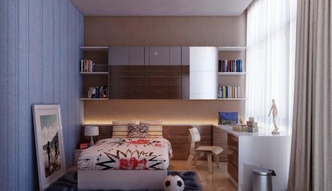 Cuartos juveniles para espacios pequeños - Ideas para decorar ...