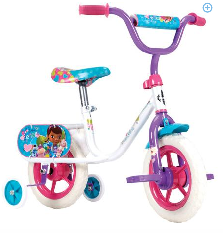 "A Dime At a Time: 10"" Huffy Disney Doc McStuffins Girls' Bike ONLY $23"