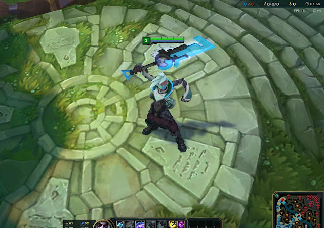 Mod Skin Ekko Blue Project