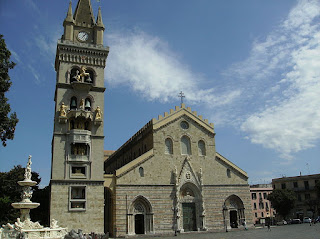 The cathedral at Messina had to be rebuilt twice in the 20th century because of earthquake and war damage