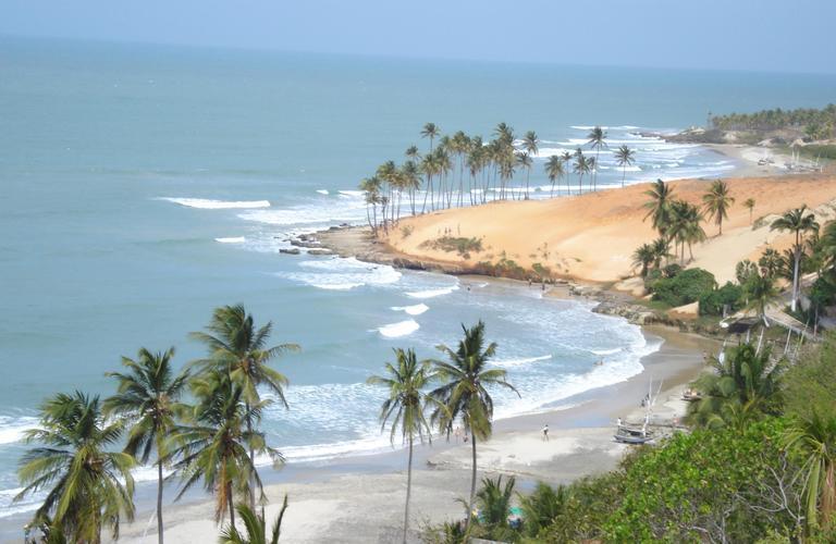 Serviço de traslado do aeroporto de Fortaleza para a praia de Lagoinha no Ceará