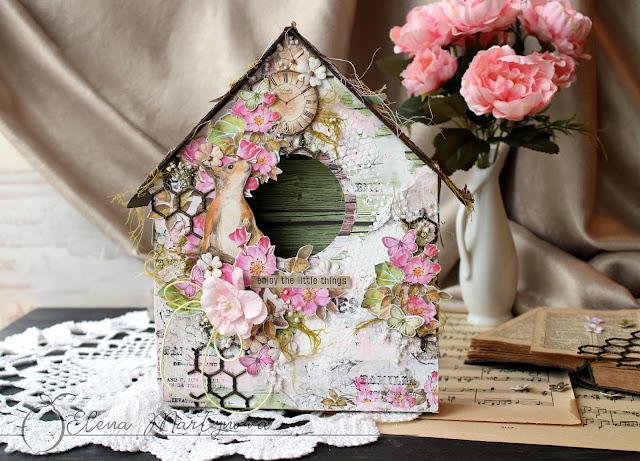 Wiosenny domek dla ptaków / A spring birdhouse - VIDEO TUTORIAL