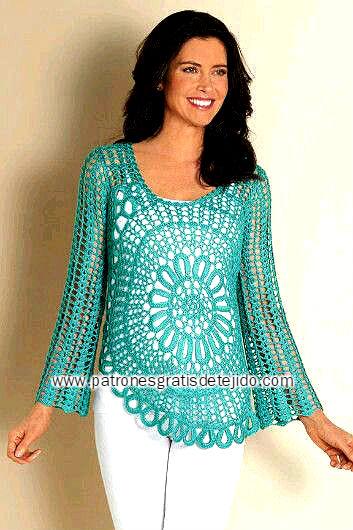 patrones-blusa-crochet-con-circulo