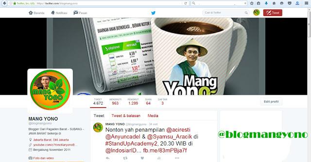 Twitter Mang Yono @blogmangyono