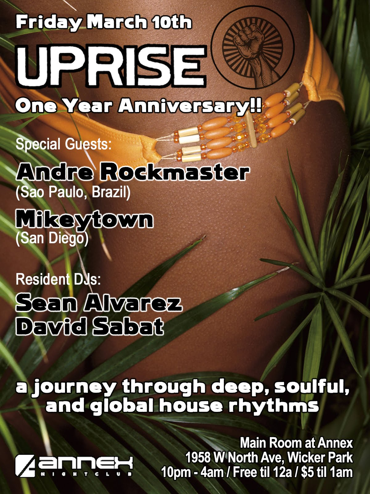 Friday 3/10: UPRISE 1 Year Anniversary