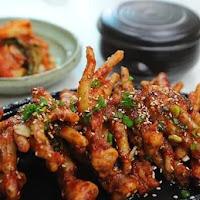 3 Aneka Resep Masakan Ceker Ayam Pedas