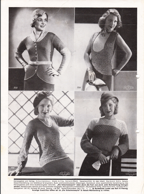 The Vintage Pattern Files: 1930's Knitting & Crochet - Die Schachenmayrin 2/32