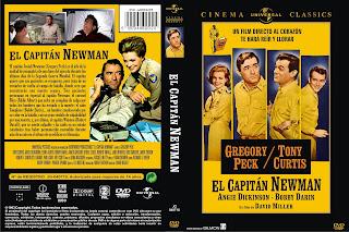 Carátula: El capitán Newman (1963) Captain Newman, M.D.