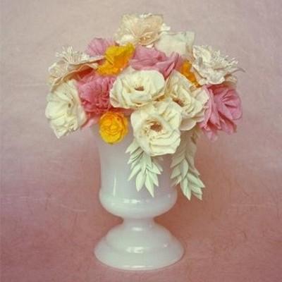 Flores de Papel Crepom - DIY
