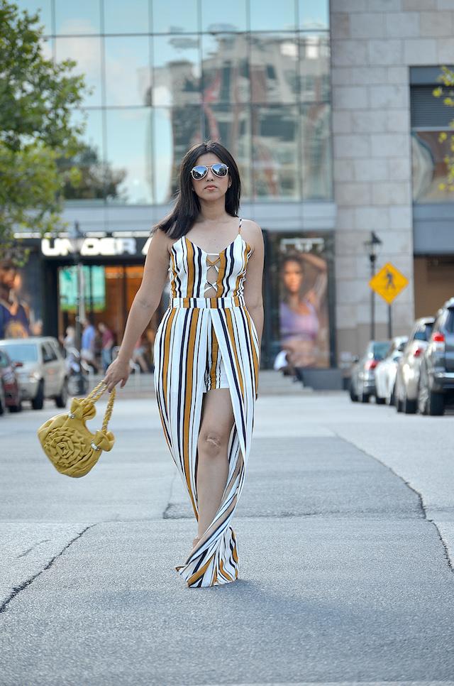 Wearing: Jumpsuit/Enterizo: MakemeChic Bag/Bolso: Charming Charlie  Shoes/Zapatos: C LABEL