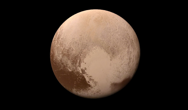 Permukaan Planet Pluto