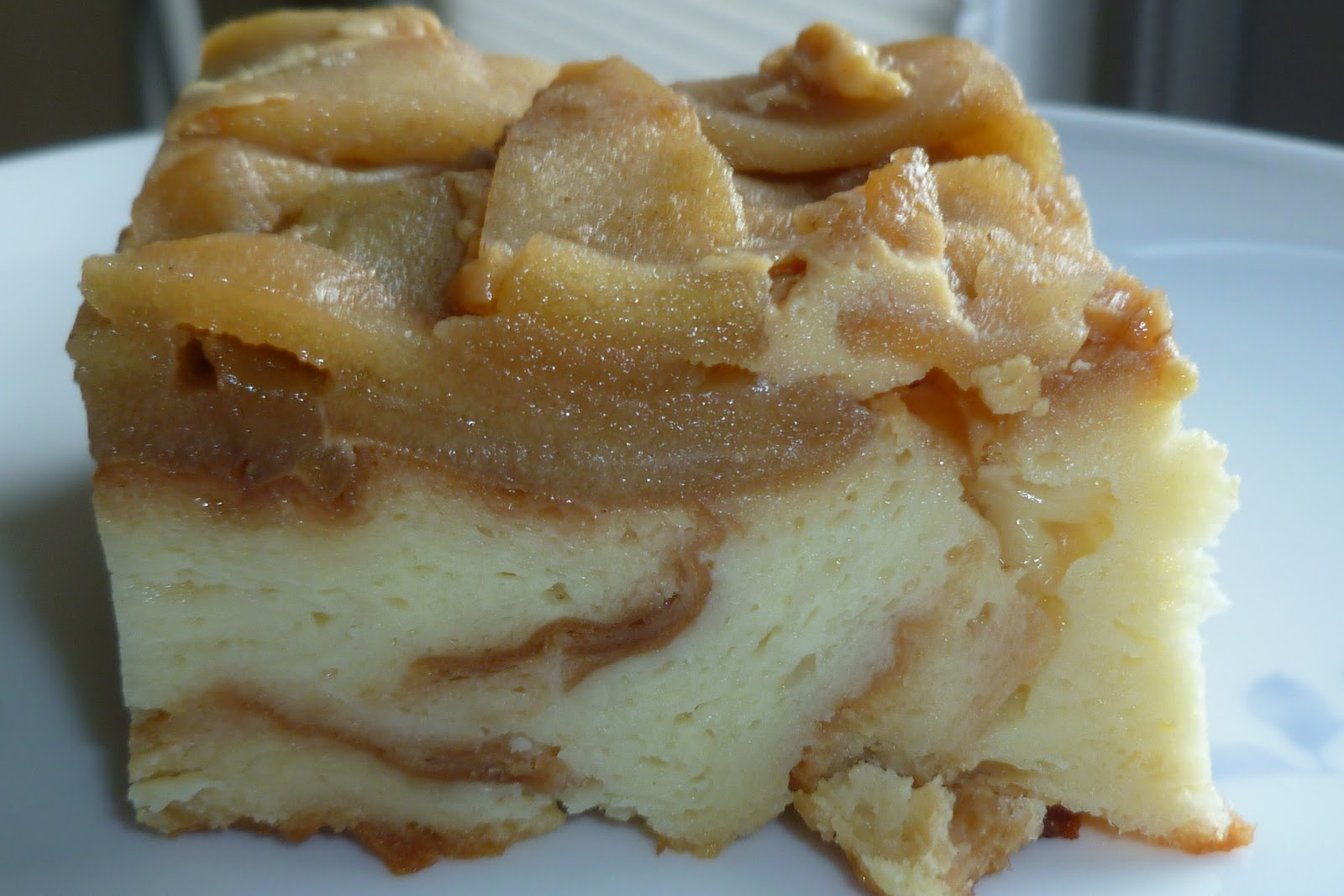 The Pastry Chef S Baking Caramelized Apple Bread Pudding
