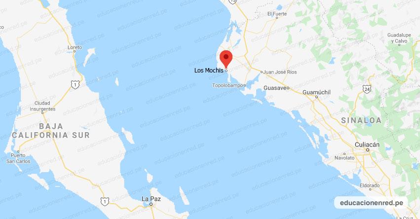 Temblor en México de Magnitud 4.0 (Hoy Martes 21 Julio 2020) Sismo - Epicentro - Los Mochis - Sinaloa - SIN. - SSN - www.ssn.unam.mx