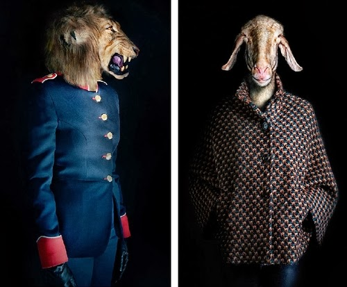 03-Lion-and-Goat-Miguel-Vallinas-Segundas-Pieles-Second-Skins-Smartly-Dressed-Animals-www-designstack-co