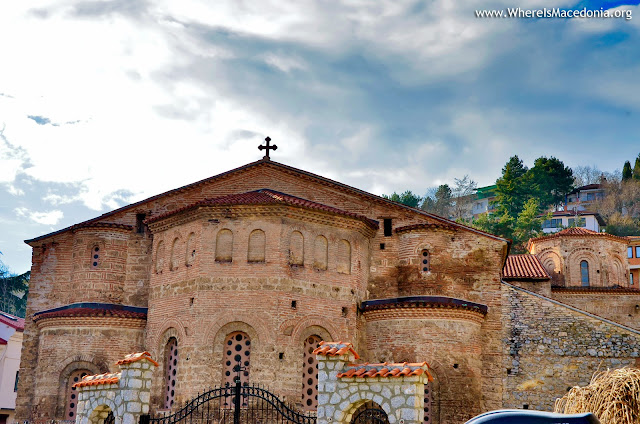 St. Sophia church in Ohrid, Macedonia