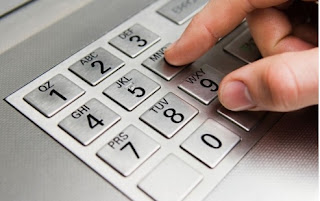 Gambar keyboard atm bank mandiri