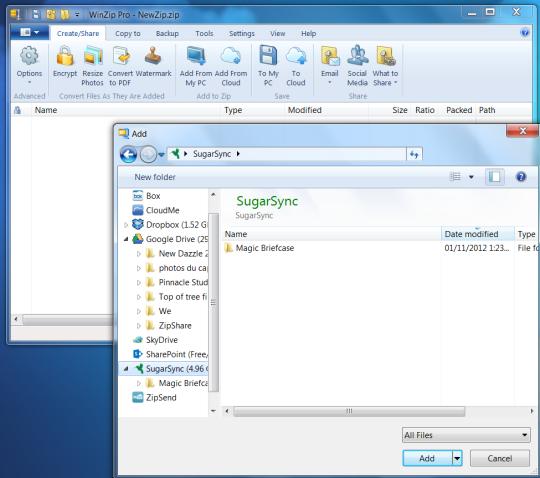 WinZip Terbaru (Software Ekstrak dan Kompres File)