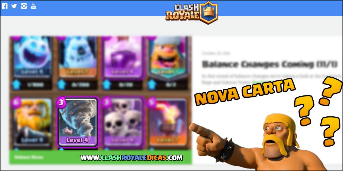 Nova carta no Clash Royale?! Tornado... Furacão...?? - 1