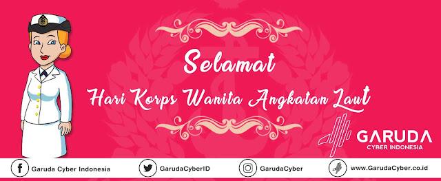 Download Free File PSD JPEG Desain Hari Korps Wanita Angkatan Laut (KOWAL) Indonesia