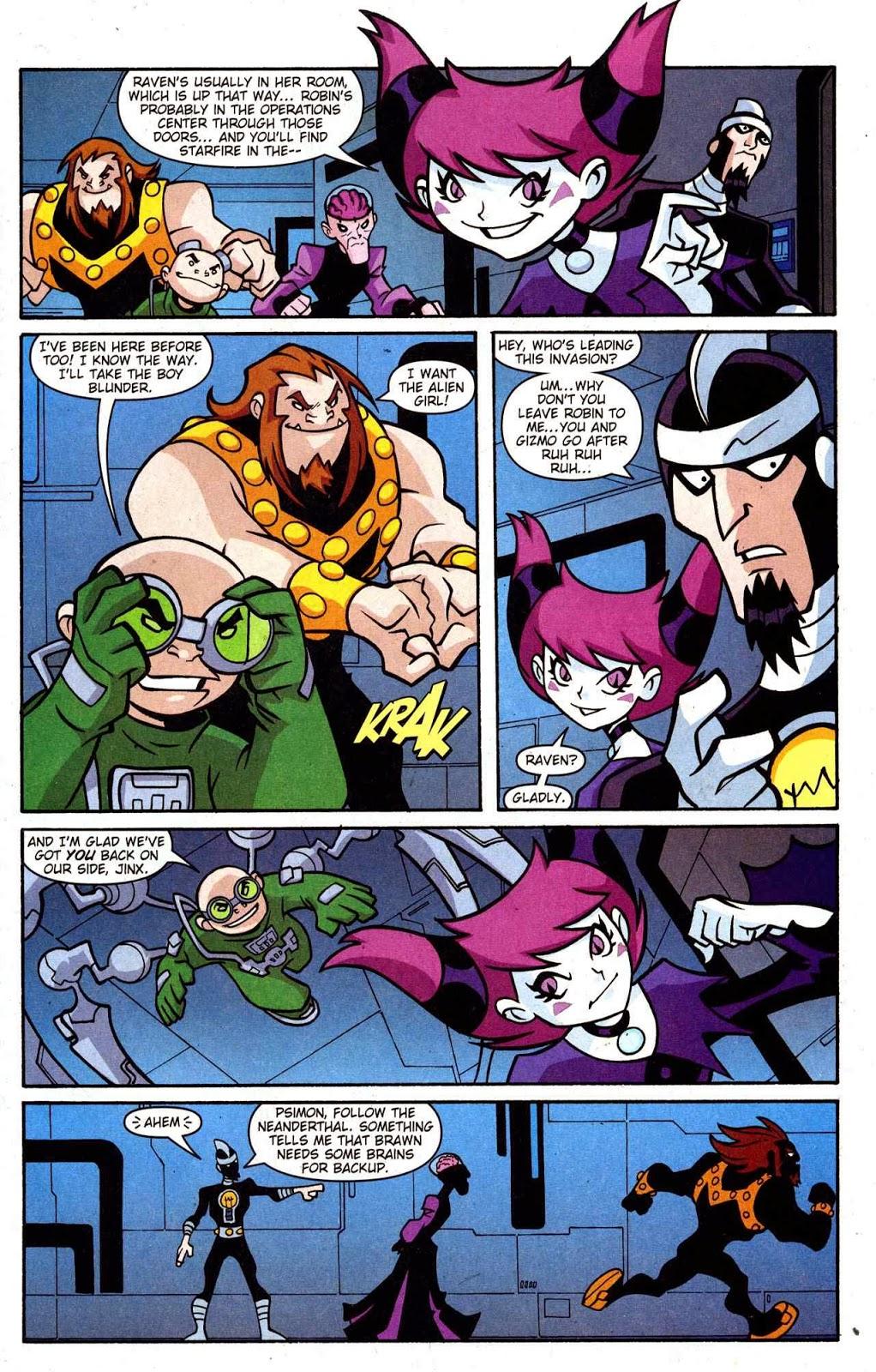 Teen Titans Go Comic Book Series Teen Titans Go Issue -4072