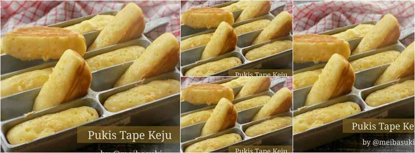Resep Membuat Kue Pukis Tape Keju by Mei Basuki