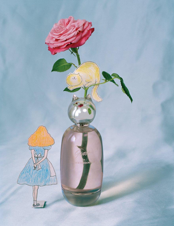 Grace Coddington launches perfume, Grace by Grace Coddington / fashion news via www.fashionedbylove.co.uk