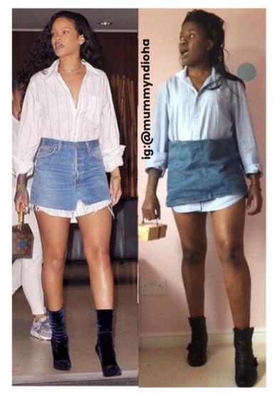 IG Comedian Mummy Ndioha Recreates More Celebrity Looks