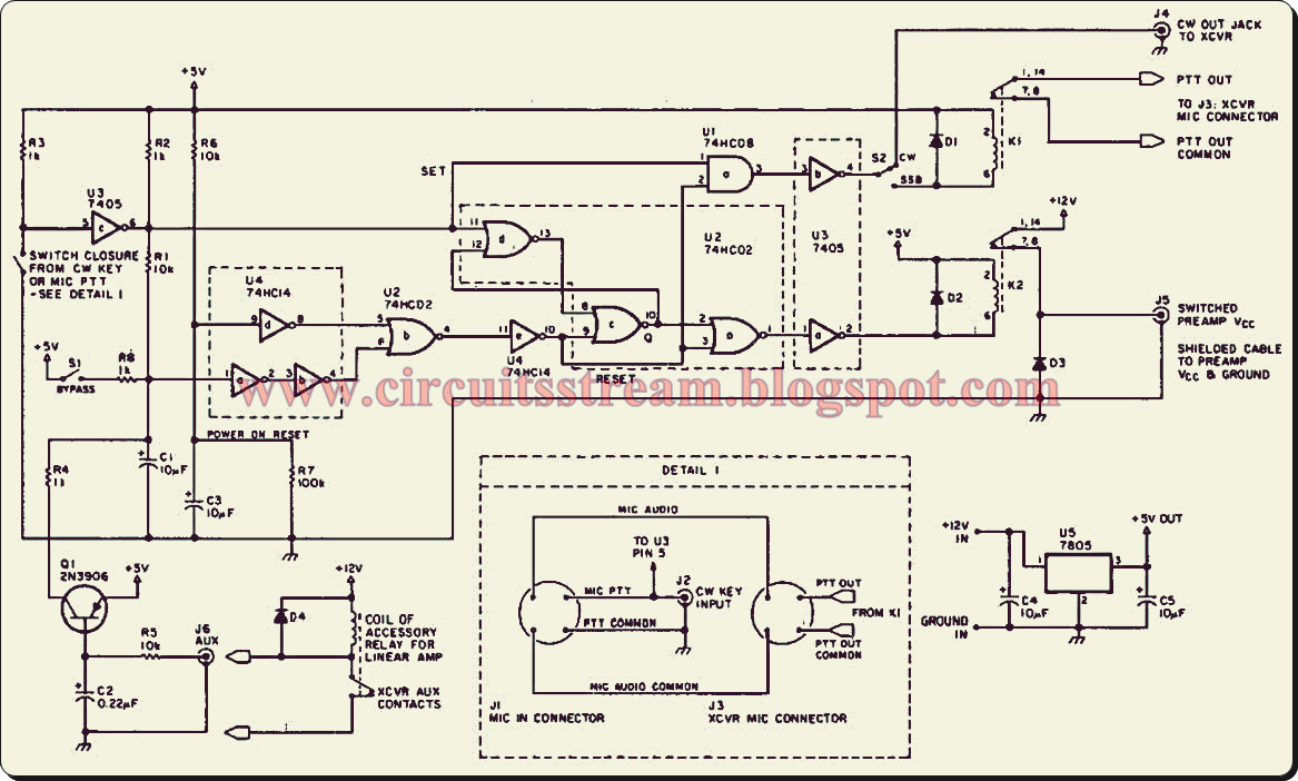 build a preamplifier transmit receive sequencer circuit