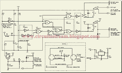 Preamplifier Transmit Receive Sequencer Circuit Diagram