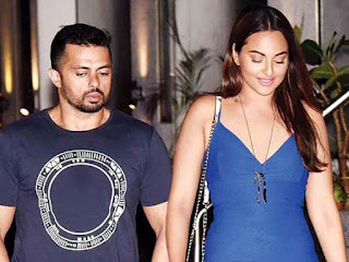 sonakshi sinha with boyfriend