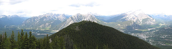 Banff Mountain View.