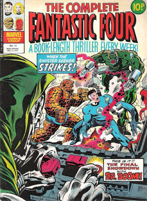 The Complete Fantastic Four #12, Dr Doom