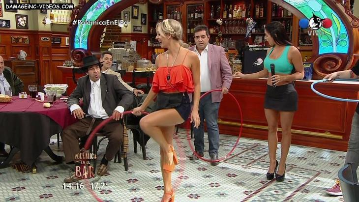 Noelia Marzol hot legs in shorts damageinc videos HD