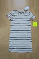 Erfahrungsbericht: Yidarton Damen Crew Neck Base Gestreiftes Kurz Spaltung Casual T-Shirt Top Bluse