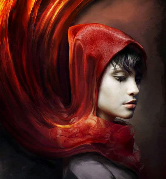 Create a Red Riding Hood Themed Photo Manipulation