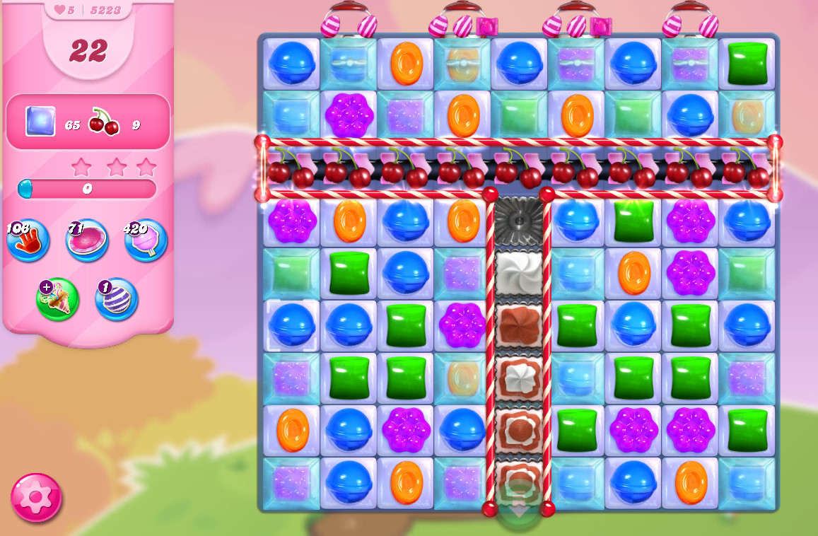 Candy Crush Saga level 5223